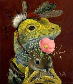 """""""Desert Odd Couple"""" by Carolyn Schmitz Naive Art, Mellow Yellow, Whimsical Art, Animal Paintings, Pet Portraits, Painting & Drawing, Animal Pictures, Fantasy Art, Cool Art"""