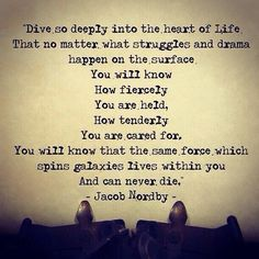 Universal Energy and Love. Quote by Jacob Nordby