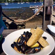 """Gefällt 4 Mal, 1 Kommentare - Becky Bennett (@abeckybennett) auf Instagram: """"#Moules #Mussels at the #PandoraInn"""""""