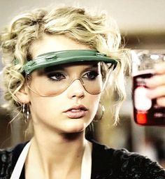 Teardrops on My Guitar. How come I never looked this good in chemistry goggles? Probably becuase I'm not Taylor Swift..
