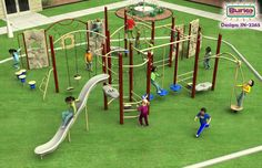 Intensity IN-2265 - Commercial Playground Equipment | Outdoor Play Structures | BCI Burke