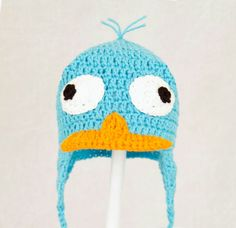 Perry the platapus hat
