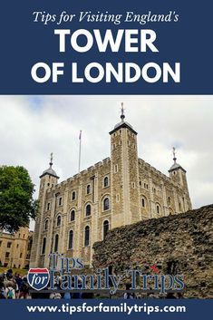 Planning a trip to London? The Tower of London is one of the city's most popular attractions, and my history-loving family enjoyed it even more than we expected to. Tips for visiting England's Tower of London with kids | Tips for Family Trips #Tips #Trave