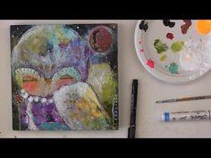 How To Paint an Owl 2 - online class with #JulietteCrane