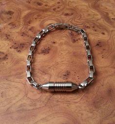 Stainless Steel Urn Bracelet, Cremation Bracelet, Pet Urn Bracelet, Memorial Pendant, FREE SHIPPING! #Bracelet #Dogtag