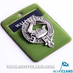 Wallace Clan Crest P