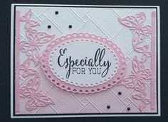 Card made with unbranded dies.