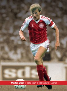 Morten Olsen, Former danish national football player. He played as libero and captain for the danish national football team back in the eighties. Present coach for the danish national football team.