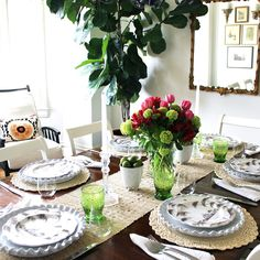 classic • casual • home: SIX Ways to Update Your Dining Room NOW for Fall