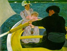 Cassatt, Mary The Boating Party  1893-94 Oil on canvas, 90.2 x 117.5 cm (35 1/2…