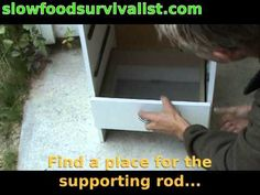 How to build a food dehydrator for less than 30€/$ - YouTube