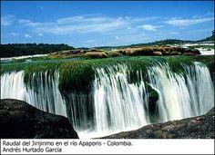 Raudal de Jirijirimo, Rio Apaporis Colombia Hermoso lugar