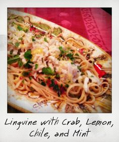 Recipe: Linguine with Crab, Lemon, Chile and Mint