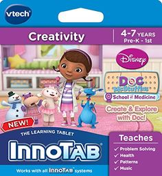 Kids' Personal Video Players - VTech InnoTab Software Disneys Doc McStuffins Create and Explore * You can find more details by visiting the image link.