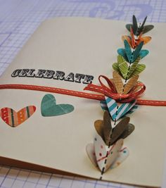Good Golly, Ms. Molly!: Celebrate Card with No-Sew 3D Hearts