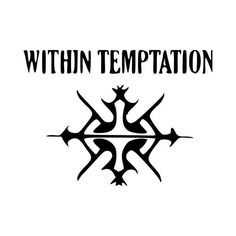 Within Temptation Band Logo Vinyl Decal Sticker  BallzBeatz . com
