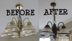 How to Spray Paint your Light Fixtures THE COUNTRY CHIC COTTAGE