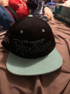 c766204365d Los Angeles Reckless Mint Green Black Adjustable Snapback Baseball Cap Hat   fashion  clothing