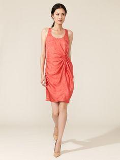 Silk Crepe Gathered Tank Dress by Thakoon on Gilt.com $249.00