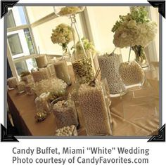 about wedding candy tables