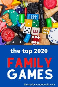 The 25 TOP Best Family Games for 2020 - Blessed Beyond A Doubt