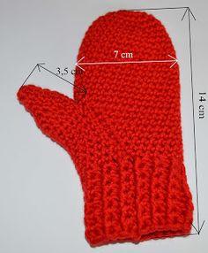 """Máma ,,Na dovolené"""": Háčkované palčáky - návod Crochet, Google, Ganchillo, Crocheting, Knits, Chrochet, Quilts"""