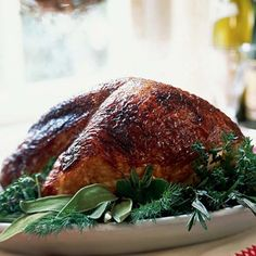 ***Mahogany Turkey Breast with Vegetable Gravy Recipe, Cooking Light