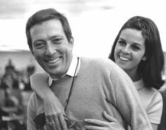 They married on Christmas Day, 25 December 1961, Andy Williams and Claudine Longet
