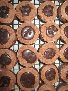 Chocolate ganache minis by Think Sweet! Cakes by Trisha
