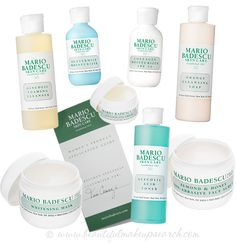 Mario Badescu reviews! Teri at BeautifulMakeupSearch.Com recently reviewed a regimen of skin care products (as always, customized for her skin!). Check it out!