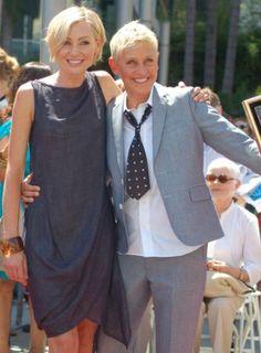 Ellen DeGeneres again denies problems in her marriage   TheCelebrityCafe.com