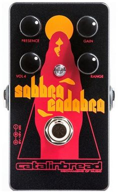 Catalinbread Sabbra Cadabra Foundation Overdrive Guitar Effects Pedal