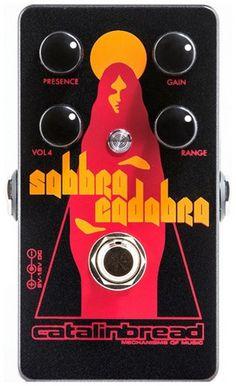 Catalinbread Sabbra Cadabra Foundation Overdrive Guitar Effects Pedal