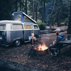 At camp in Big Sur California Photo by:...
