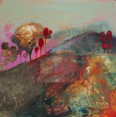 Red Landscape....judy thorley