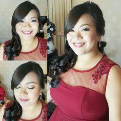 Beautiful Maid of Honor #LesAndDikkyWedding  #MakeupByAimeeG Hair by @khylelimino | Gown by @newcreationfashion #NCFWedding #NCFgowns #NewCreationFashion #WeddingsPh  For bookings: 091789-AIMEE (24633) | VIBER 09473370558  #maccosmetics #makeupforever #mufe #kpalette #nars #urbandecaycosmetics #maybellineph #makeupartistph #makeupartist #hmua #hmuaph #mua #muaph #makeup #hairstylist #hair #beauty #fashion by makeupbyaimeeg