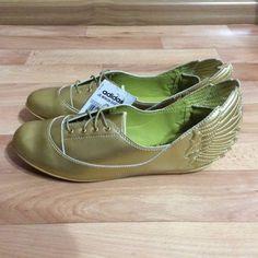 adidas-Originals-Jeremy-Scott-Gold-Wings-Easy-Five-D65208-UK-5-US-6-5-Ballerinas