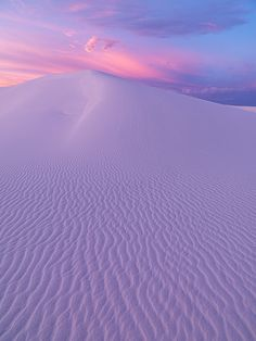 themagicfarawayttree: white sands morning