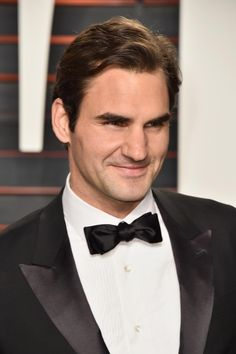 "breakfast-at-wimbledon: "" ""Roger Federer attends the 2016 Vanity Fair Oscar Party Hosted By Graydon Carter at the Wallis Annenberg Center for the Performing Arts on February 2016 in Beverly Hills,. Sweet 16 Themes, Graydon Carter, Hollywood Theme, Vanity Fair Oscar Party, Movie Party, Superhero Party, Serena Williams, Roger Federer, Wimbledon"