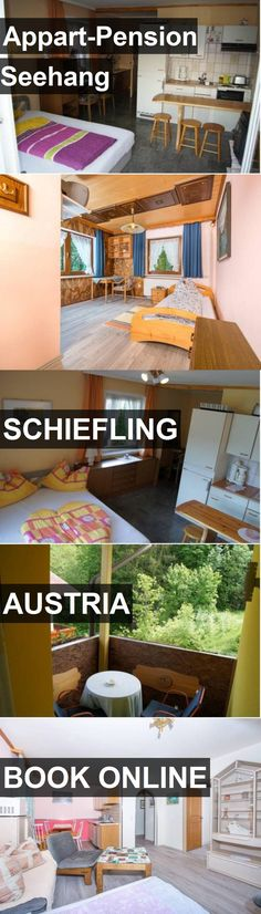 Hotel Appart-Pension Seehang in Schiefling, Austria. For more information, photos, reviews and best prices please follow the link. #Austria #Schiefling #Appart-PensionSeehang #hotel #travel #vacation