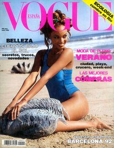 tyra banks on vogue   Vogue's Covers: Tyra Banks
