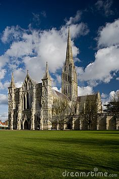 Salisbury Cathedral,  -  Stopped by on my way to Stonehenge (or on my way back to Southhampton) - BEAUTIFUL!
