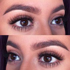 how-to-apply-eye-lash-extensions - More Beautiful Me 1 Artificial Eyelashes, Fake Eyelashes, Long Lashes, Natural Eyelashes, Cluster Eyelashes, Eyelash Extensions Styles, Beauty Lash, Beauty Makeup, Applying Eye Makeup