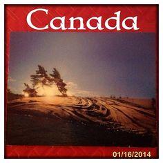 2014-01-16 #Postcard from #Canada (CA-395991) via #postcrossing #Ontario #GeorgianBay #Padgram