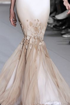 The mermaid dress by Stephane Rolland Stephane Rolland, Couture Fashion, Runway Fashion, Fashion Show, Fashion Fashion, Couture Details, Fashion Details, Fashion Design, Prom Dress 2013
