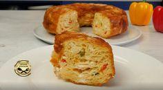 Αφράτη Τυρόπιτα Φόρμας που την κάνεις χωρίς κόπο! Bagel, Food Styling, Baked Potato, French Toast, Muffin, Potatoes, Bread, Snacks, Baking