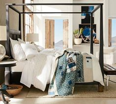 Update your master bedroom at Pottery Barn