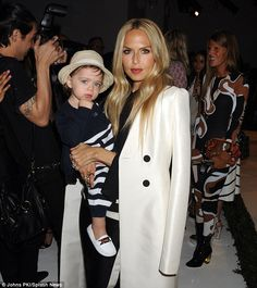 Following in her fashionable footsteps! Rachel Zoe held her nearly two-year-old son Kaius Jagger at her Spring 2015 presentation during New York. Fashion Week on Sunday Fashion, Kathleen