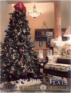 this western christmas tree is decorated with stirrups bits and spurs western christmas - Western Christmas Decorations