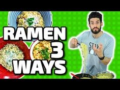 3 Ramen Noodle Hacks - YouTube
